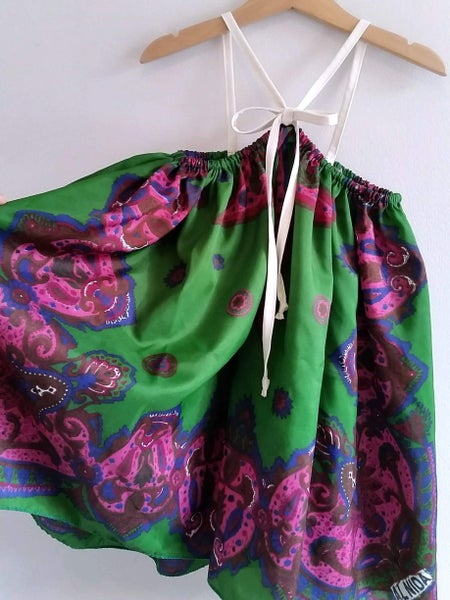Image of Flutter Dress - Ruby Zoisite