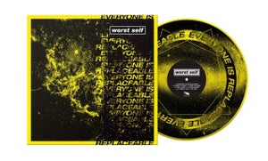 """Image of Worst Self """"Everyone is Replaceable"""" 2nd Press"""
