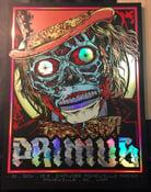 Image of PRIMUS - WONKA LIVES! - variant foil gigposter