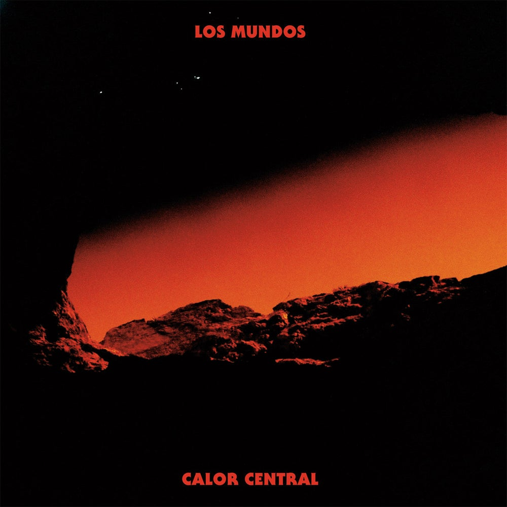 Image of Los Mundos - Calor Central (Red Vinyl and Colour Inner) Cardinal Fuzz 1 Left