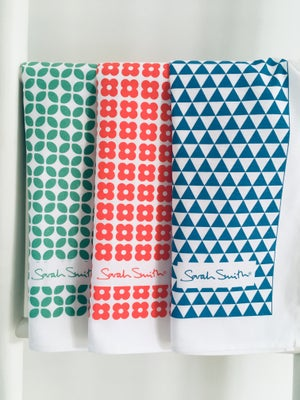 Image of Sarah Smith Value Cloths + Tea Towels Set 24 Cloths + 3 Tea Towels