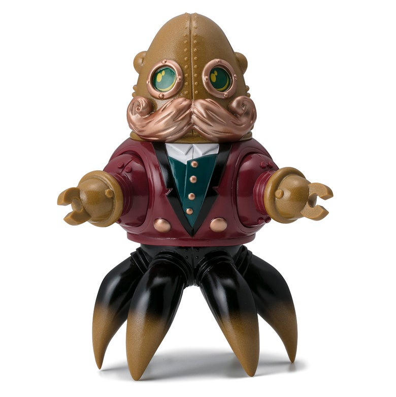 Image of Thomas Nosuke Japanese Sofubi Toy Red Morbius Edition
