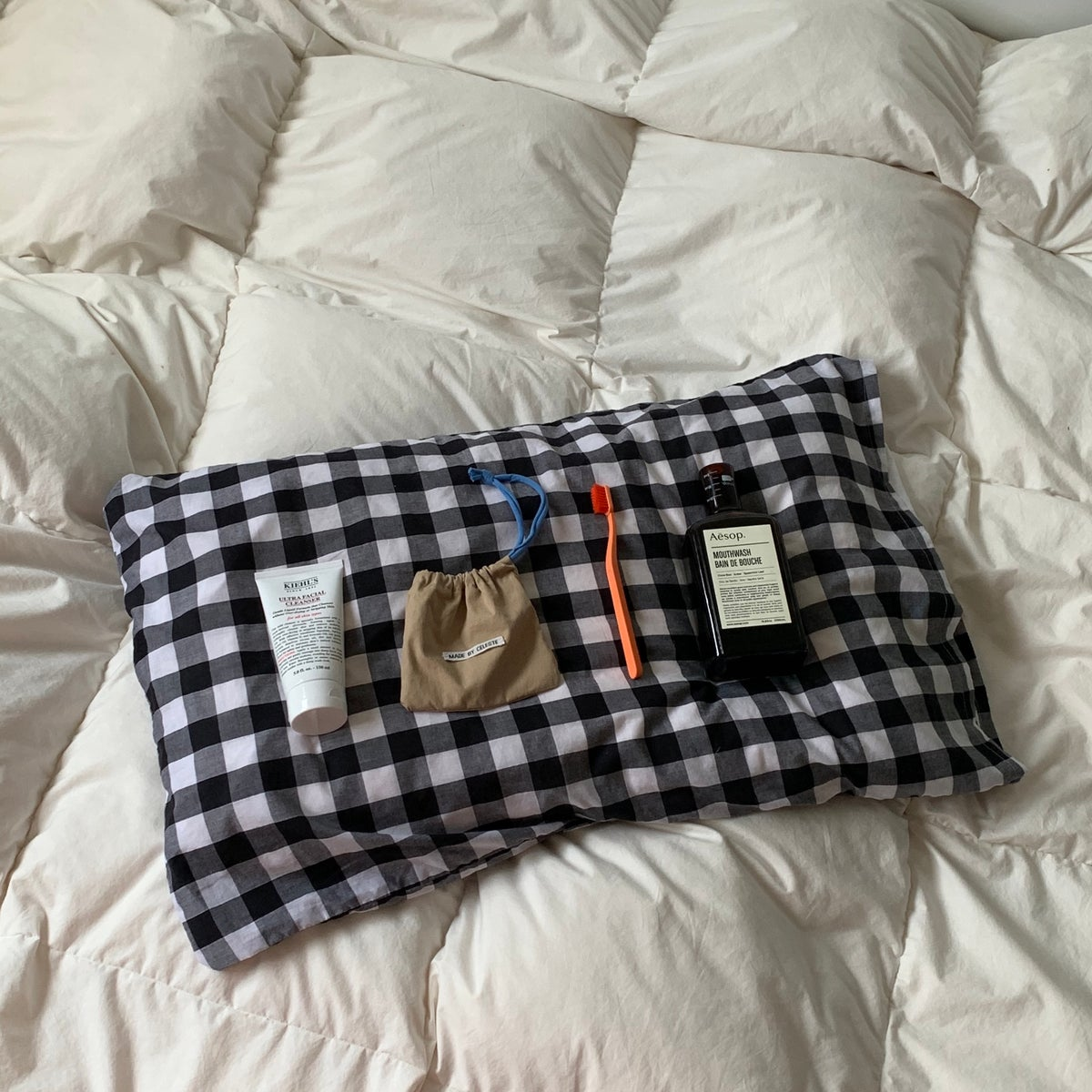 Image of SET OF TWO PILLOW CASES