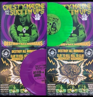 Image of DESTROY ALL HUMANS 7""