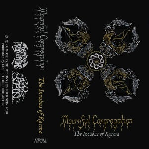 """Image of Mournful Congregation """"The Incubus of Karma"""" Tape"""