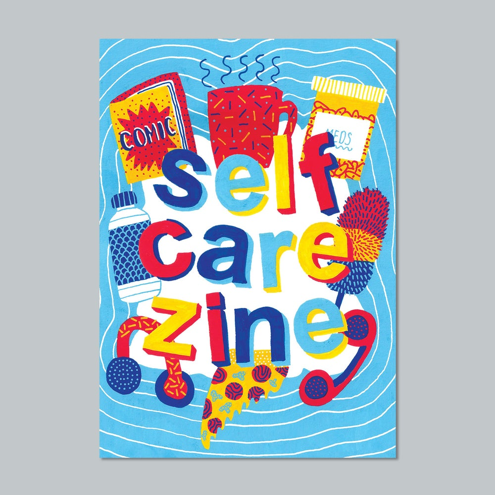 Image of Self Care Zine