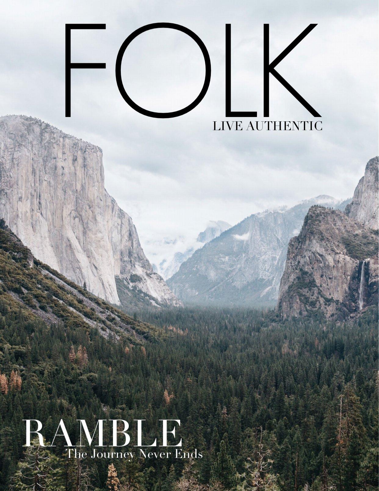 Image of DIGITAL ISSUE: FOLK  —  Ramble