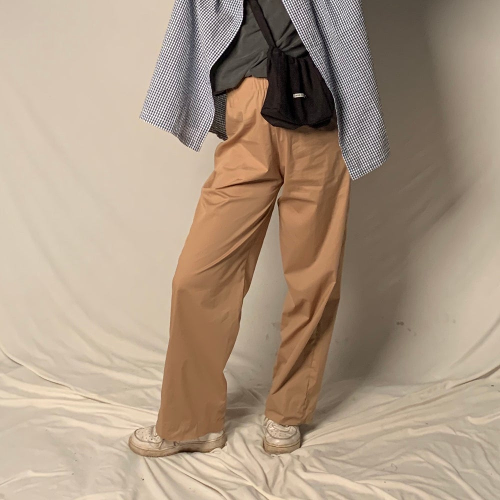 Image of COTTON TROUSERS