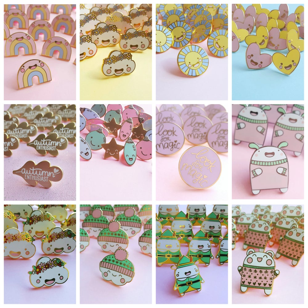 Image of Hard Enamel Pins - Lucky Dip Blind Bags!