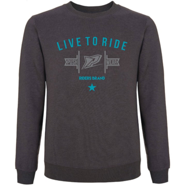 Image of Live To Ride Crew Sweatshirt