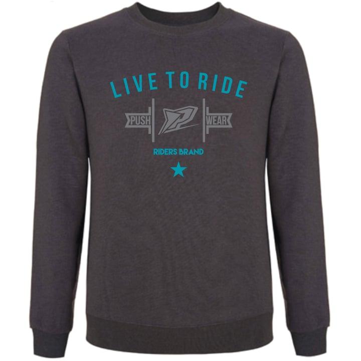 Image of Live To Ride Crew Sweatshirt
