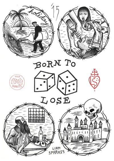 Image of Born To Lose print