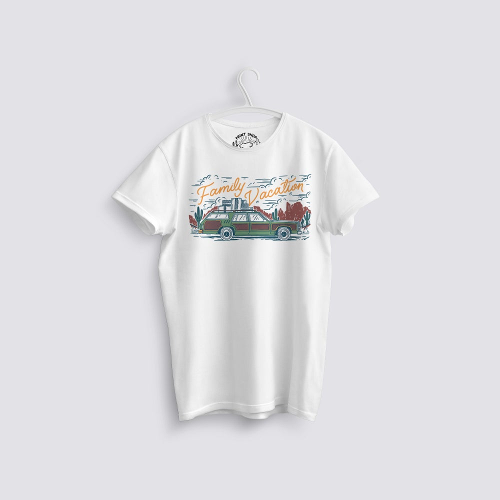 Image of Family Vacation Road Trip T-Shirt