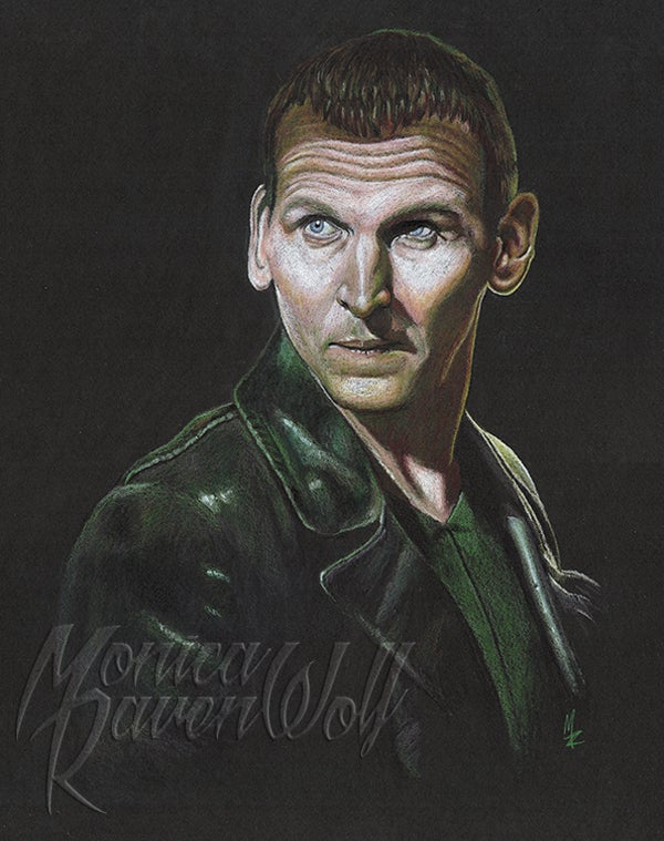 Image of THE 9TH DOCTOR (DOCTOR WHO) - ORIGINAL ART