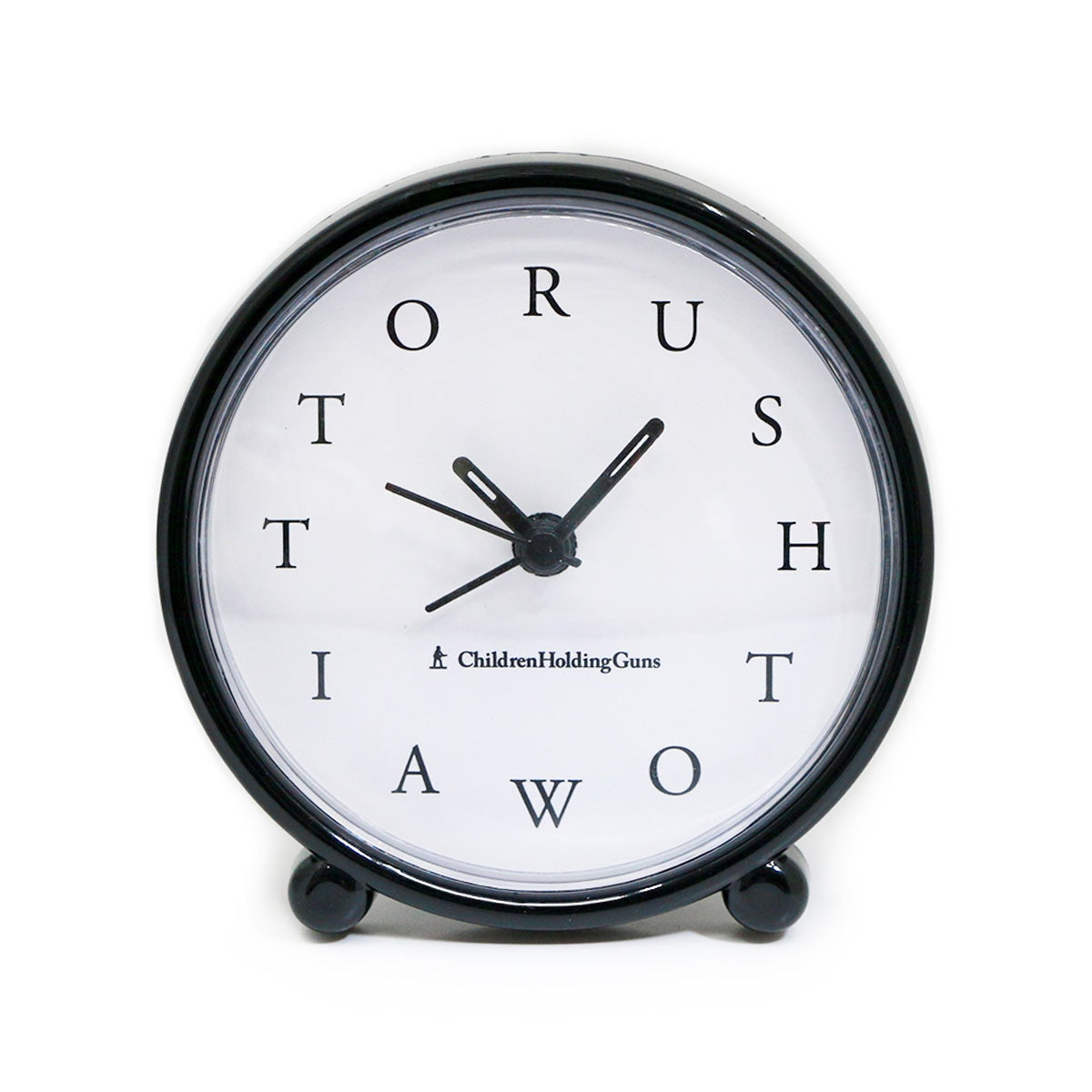 Image of RUSH TO WAIT Clock