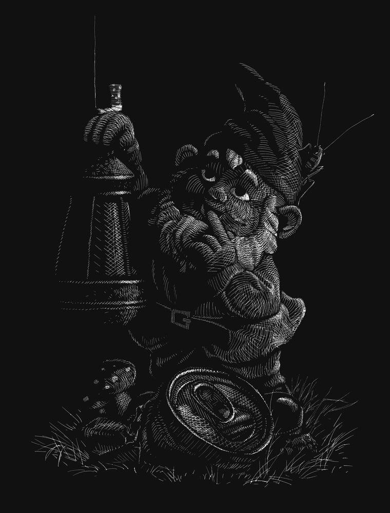 Image of »Gartenzwerg« Artprint