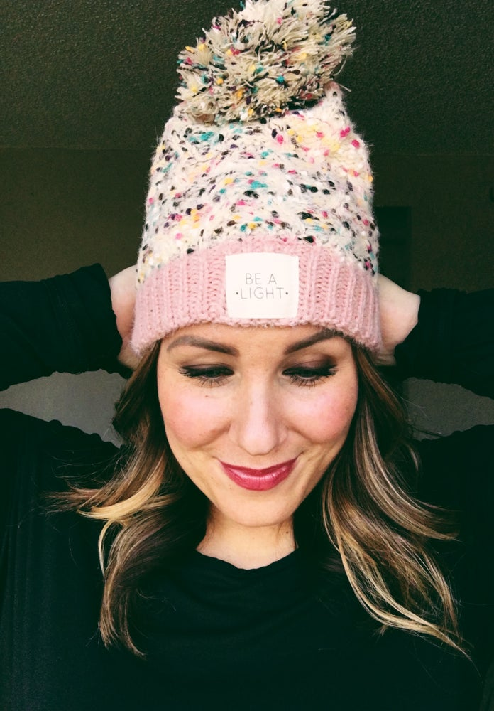 Image of Multi-spec Be A Light beanie