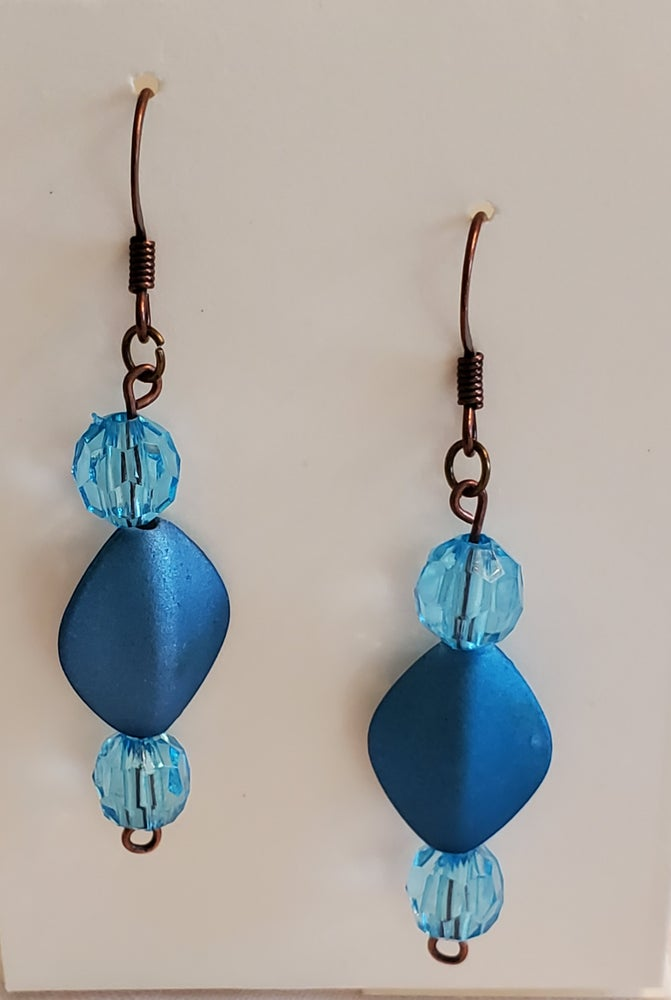Image of Turquoise Blue Earrings