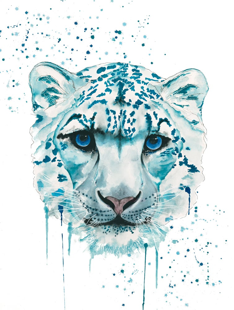 Image of Snow Leopard from the WWF Wildlife Collection