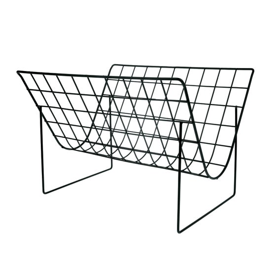 Image of Wire magazine rack