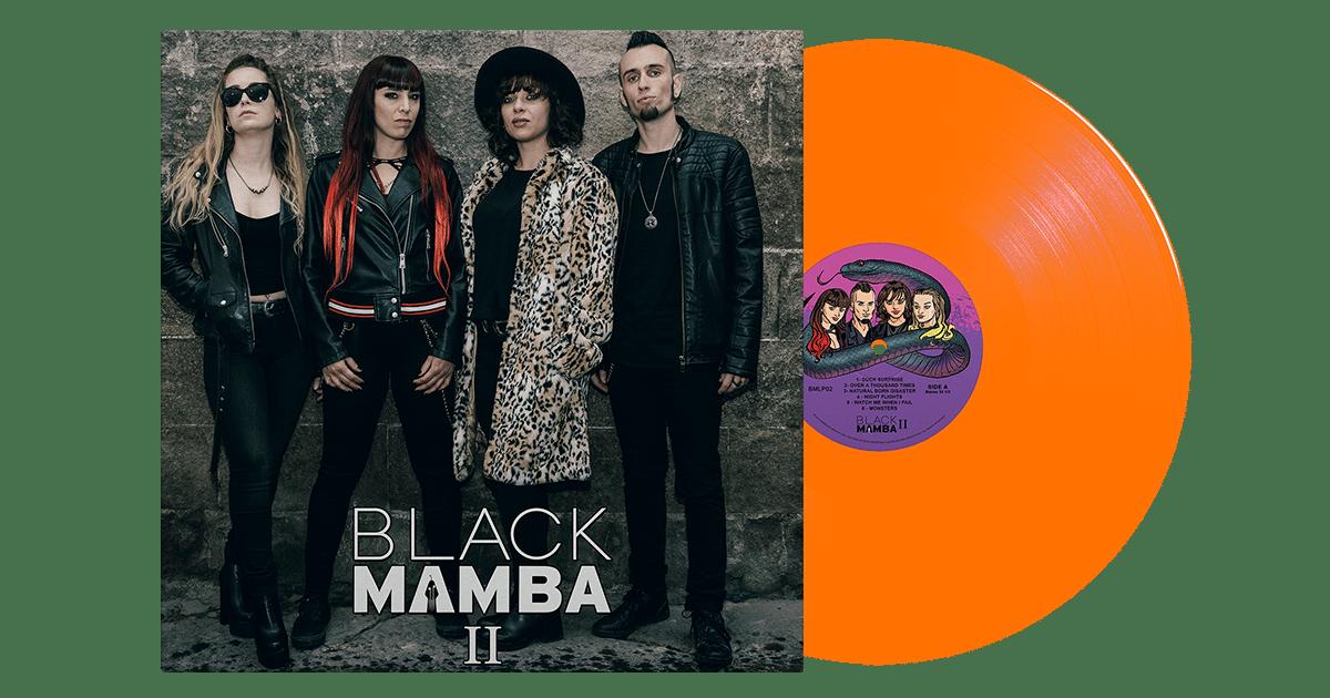 Image of Black Mamba II Limited Edition Orange LP
