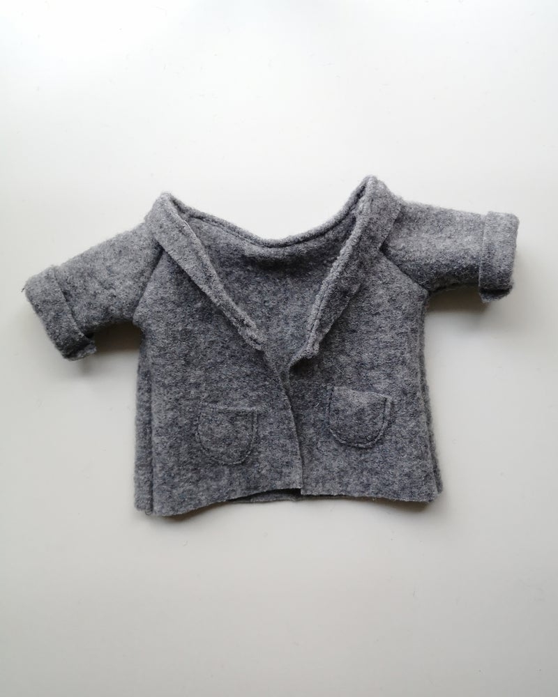 Image of Mini manteau gris