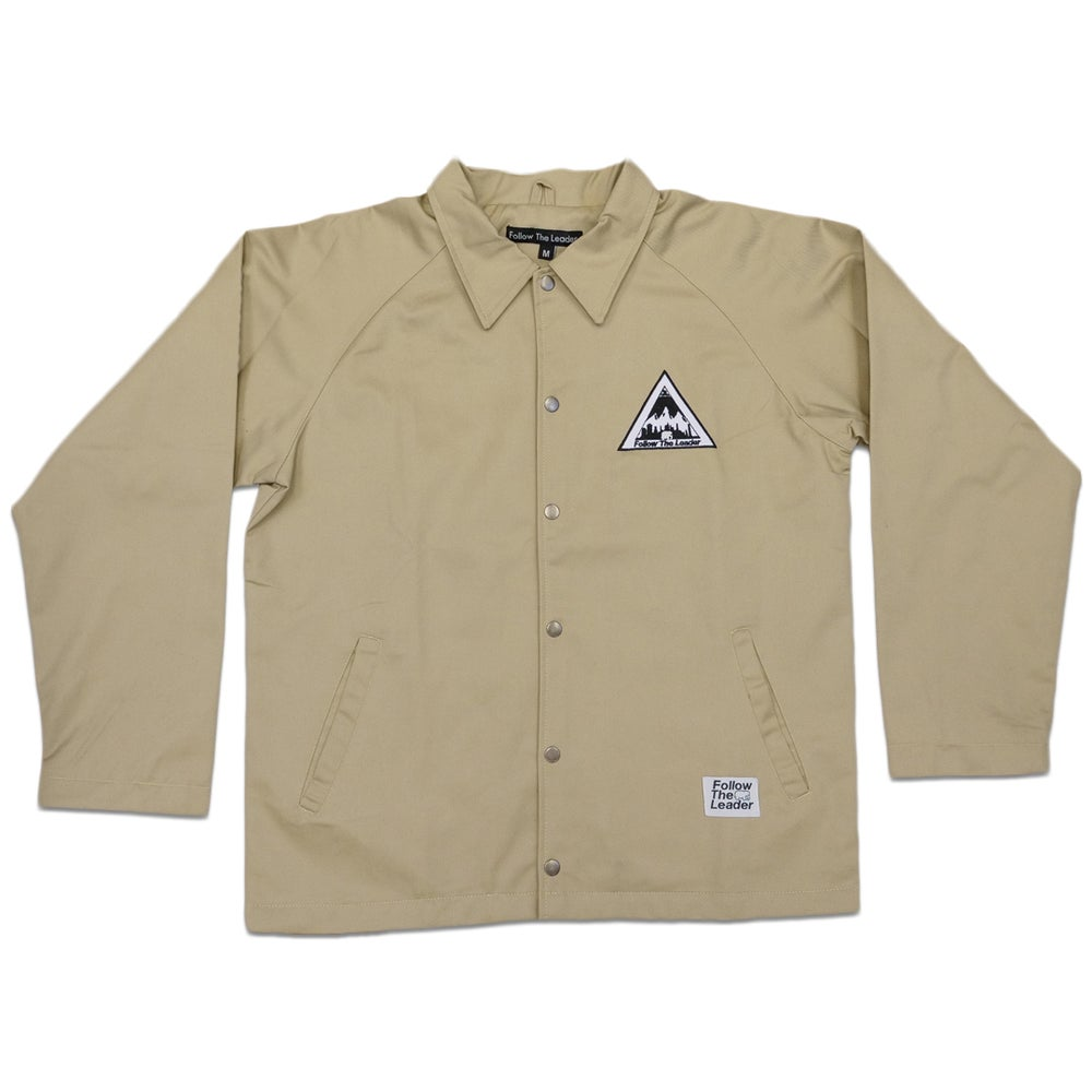 Image of NYC Scape Cotton Canvas Jacket (Wheat)