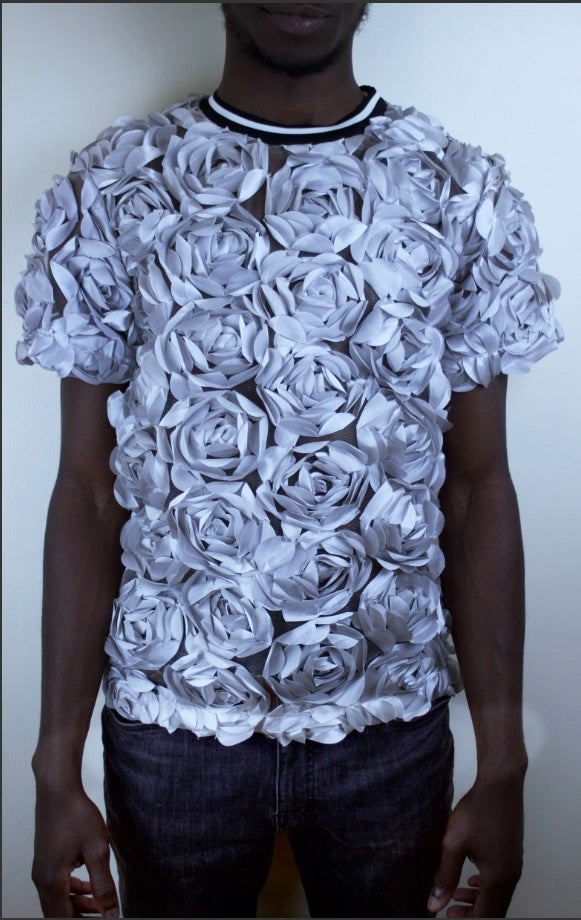 Image of Silver Rose T-shirt
