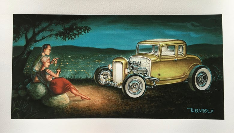 Image of Mulholland (giclee print)