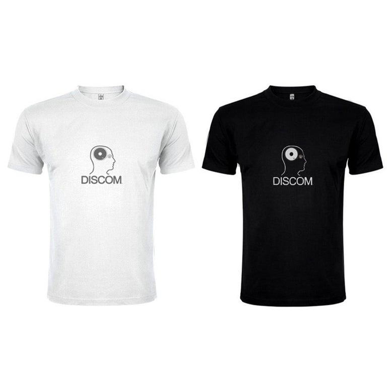 Image of Discom Man's Shirt, White/Black, 100% Cotton, free packing material, 5 EUR shipping with tracking