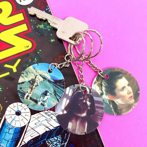 Image of Vintage Star Wars Tazo Keyring