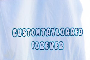 Image of CustomTaylorred Forever L/S