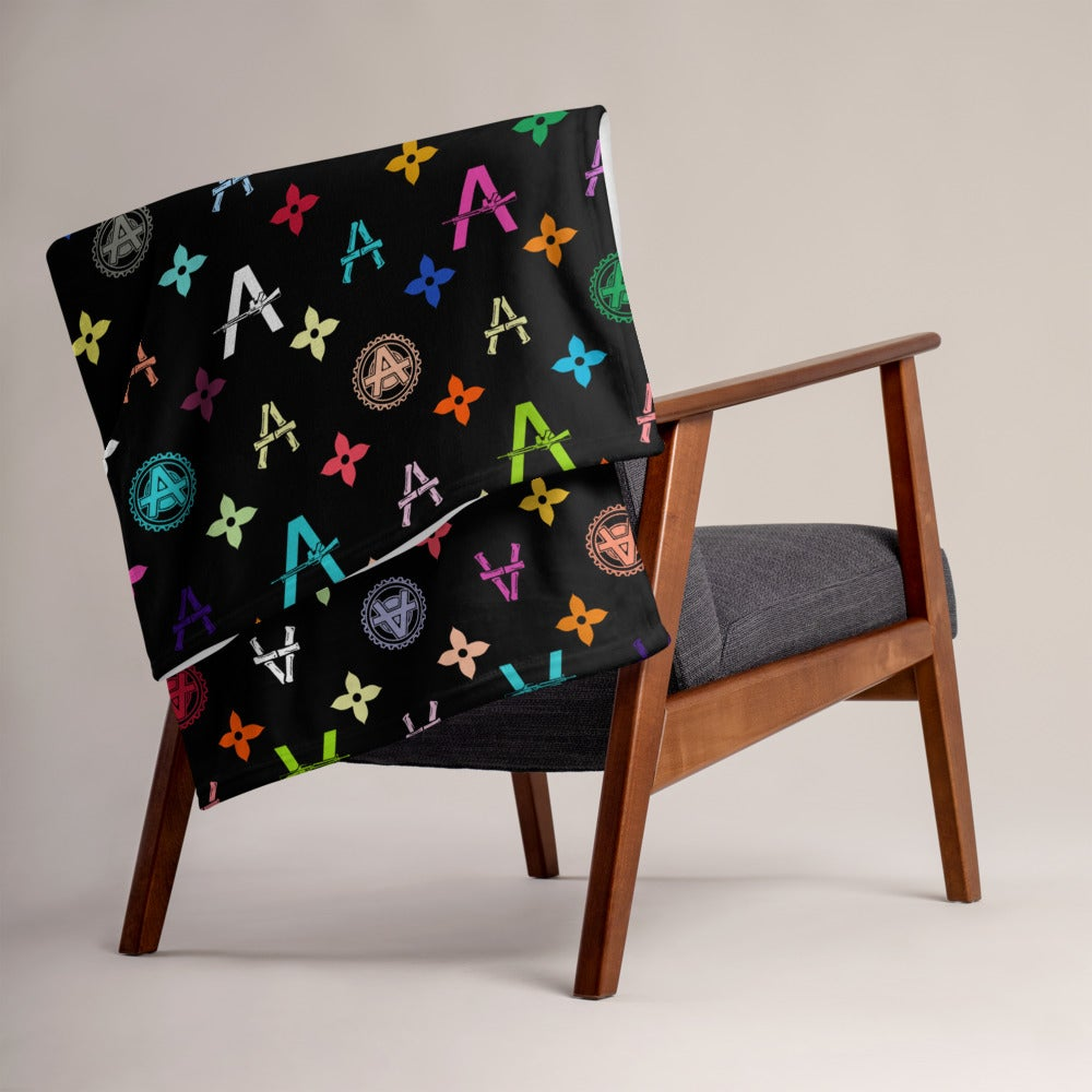 Image of (Redesigned) Vandals Throw Blanket from Sergio Giorgini