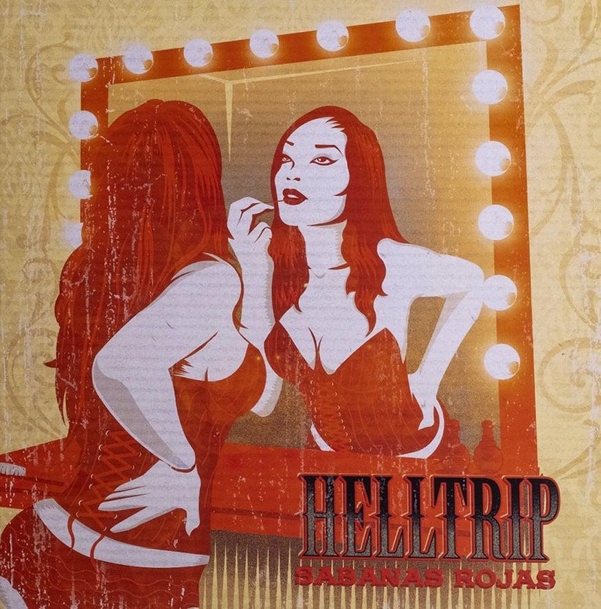 """Image of Helltrip-""""Sábanas rojas""""."""