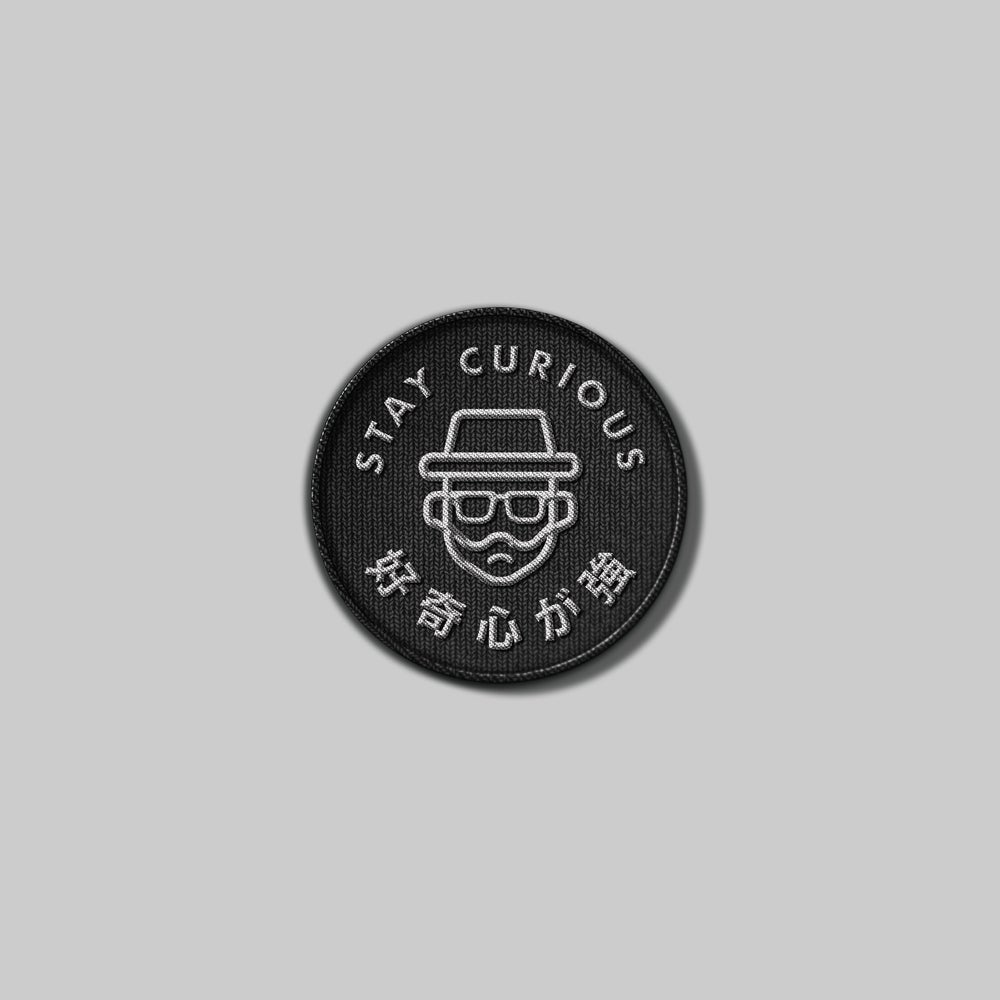 Image of Stay Curious Patch