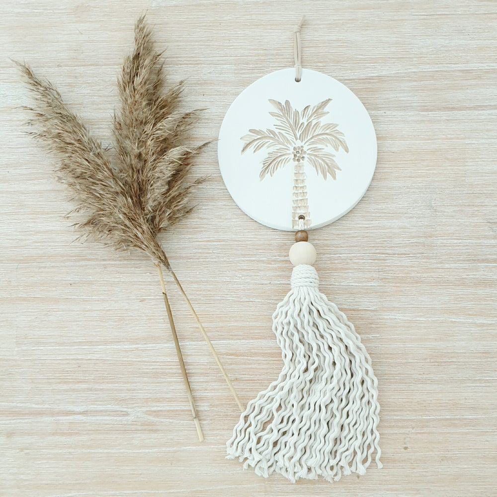 Image of Endless summer Palm Tassel - White/natural