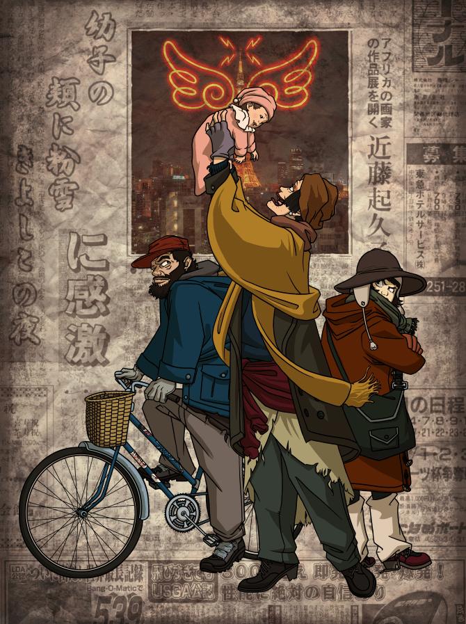 Image of Tokyo Godfathers