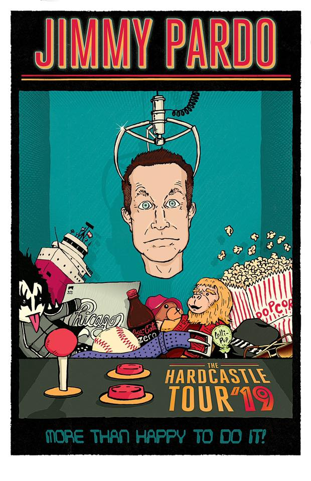 Image of TOUR POSTER : Hardcastle Tour 2019