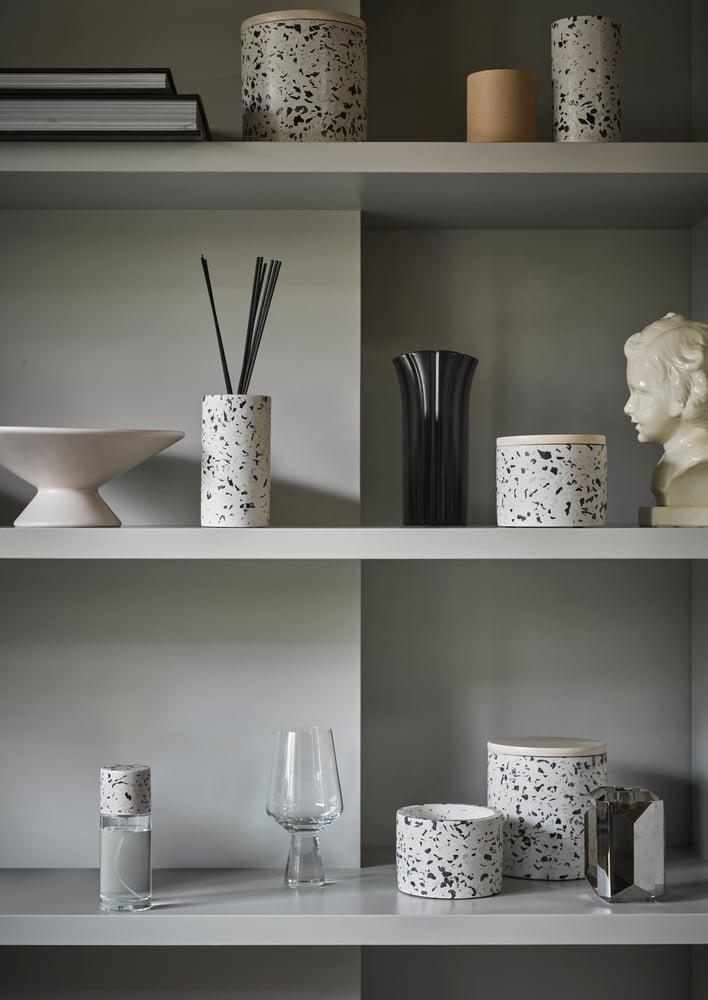 Image of Terrazzo storage jar