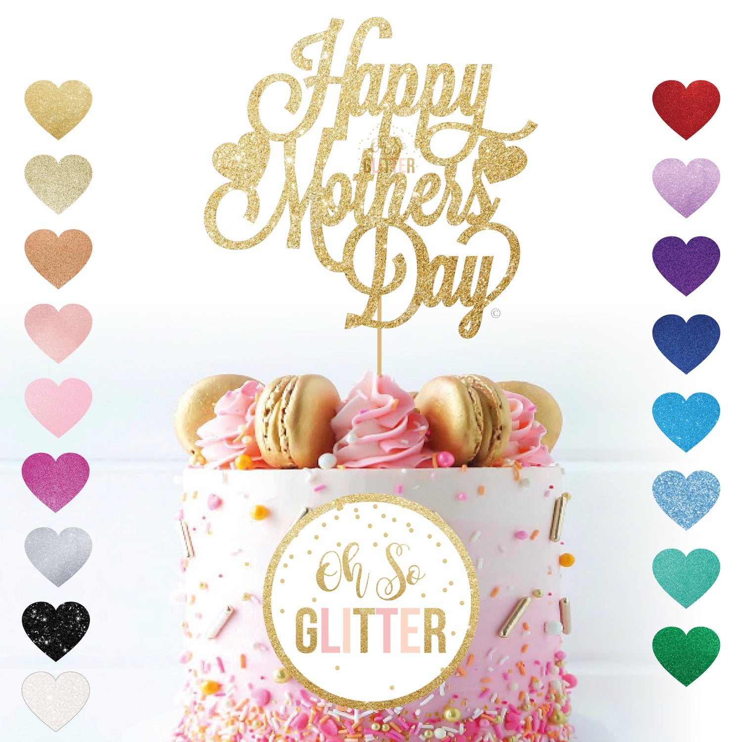 Image of Happy Mothers Day Cake Topper