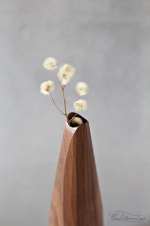 Image of Wabi-sabi vase with natural wood knot