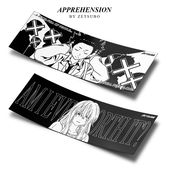"Image of ""APPREHENSION"" SLAP [SHOUKO OR SHOYA VER.]"