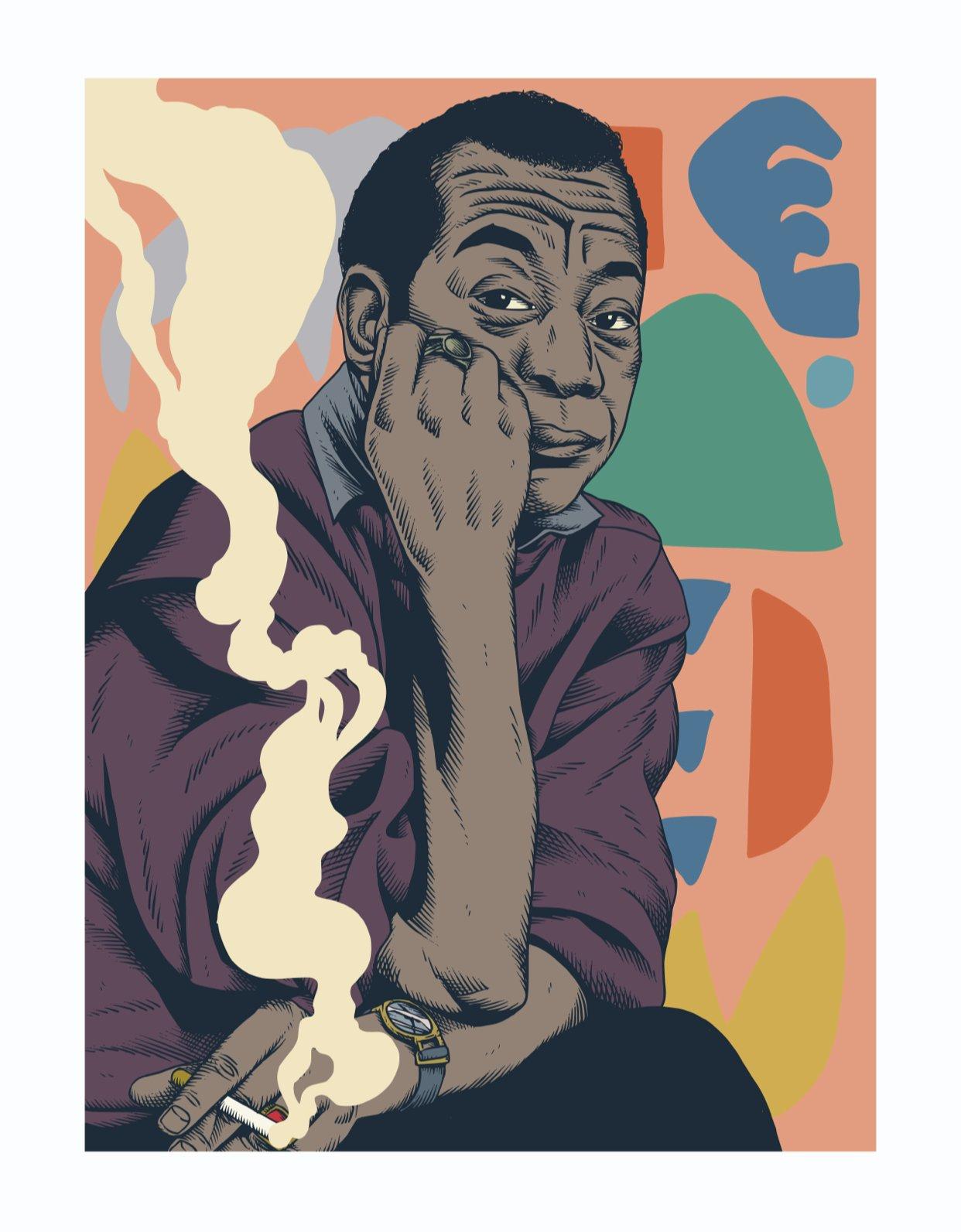 Image of James Baldwin