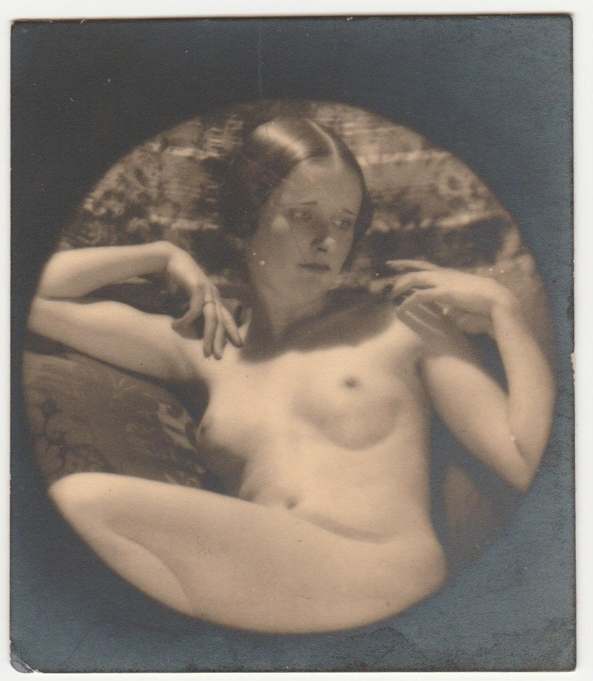 Image of Bertram Park: nude study of young woman, ca. 1940