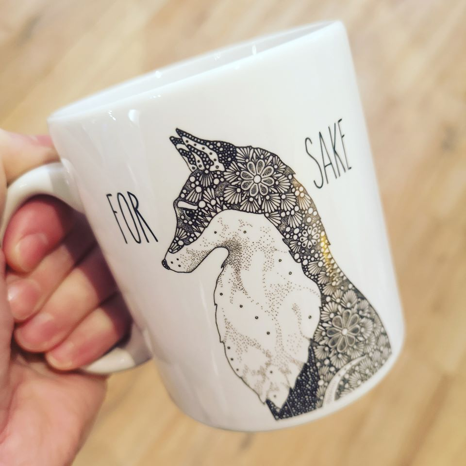 Image of For Fox Sake Mug
