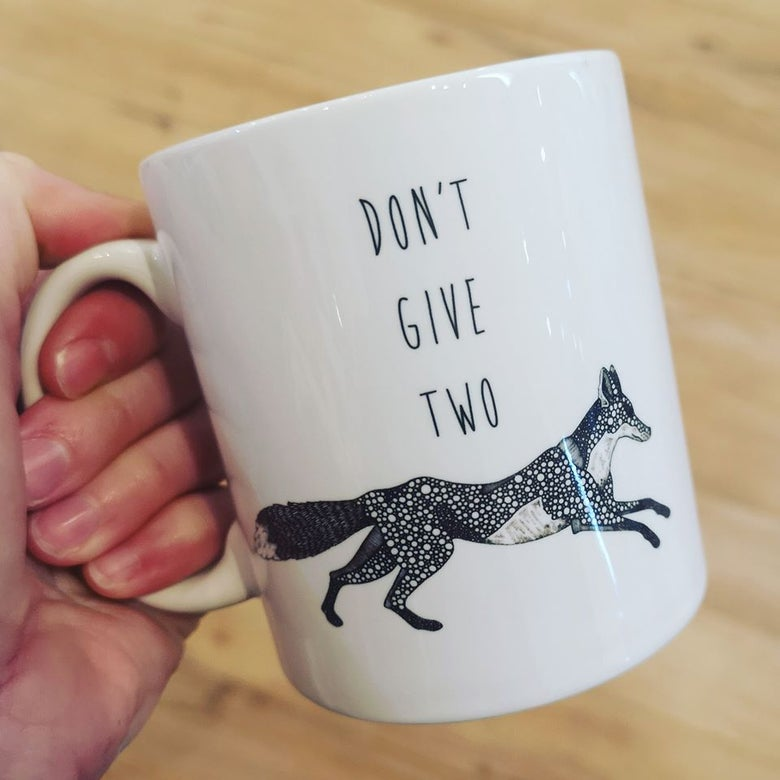 Image of Don't Give Two Fox Mug