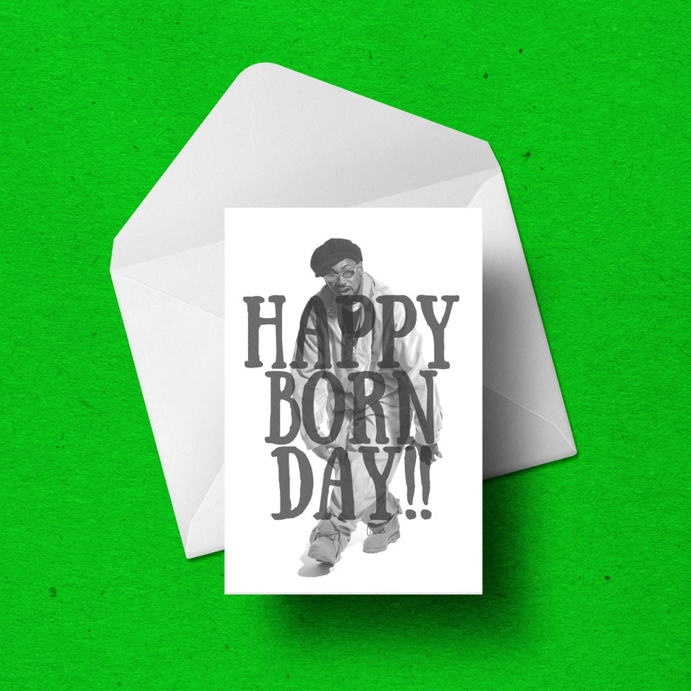 Image of Ghostface Killah Birthday Card!