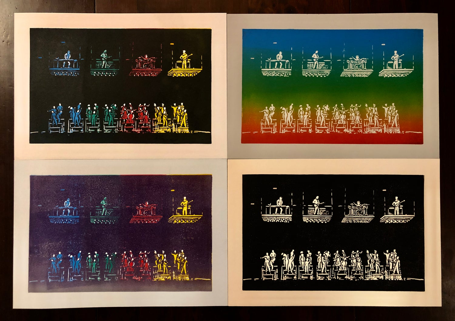 Image of Send in the Clones prints
