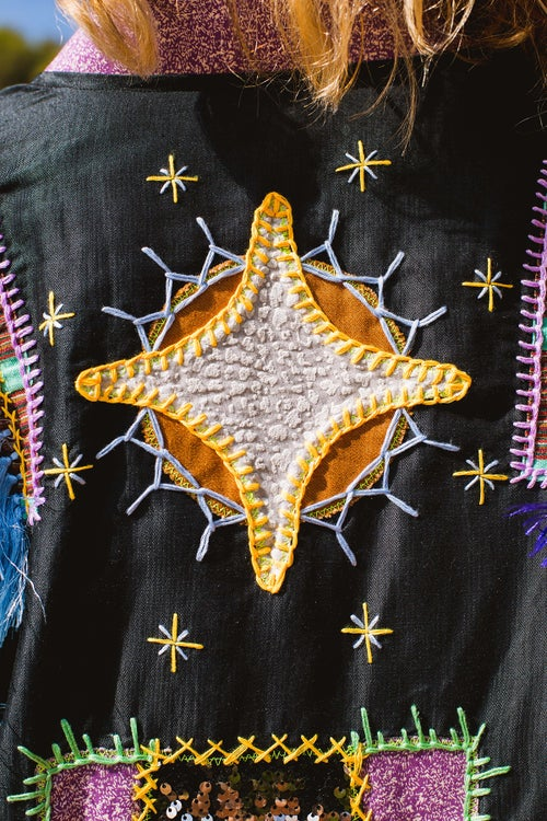 Image of Purple Wind Kimono