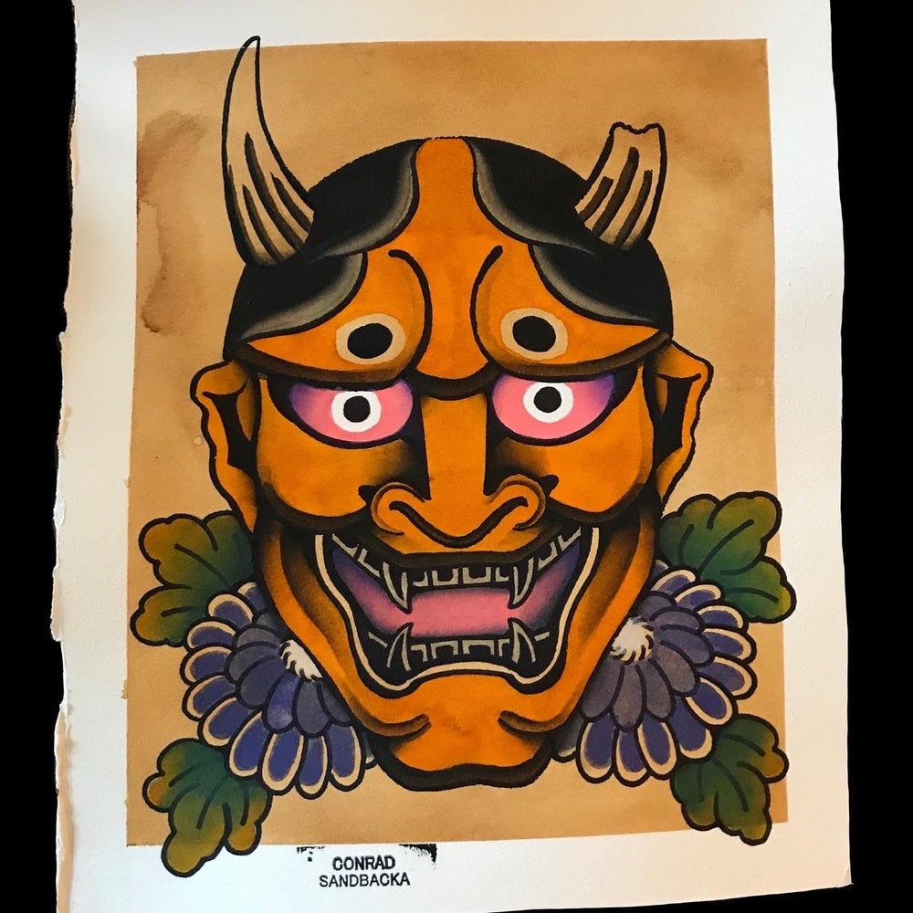 Image of Yellow Hannya